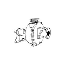 Crown B30 Self-Priming Universal/Electric Driven Pump End Crown self priming pumps, self priming universal electric driven pump, crown self priming solids handling pump