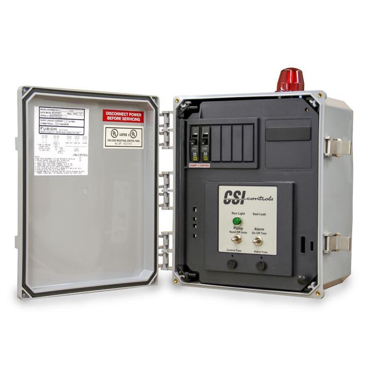 CSI Controls - CSI Controls FS230ACB Fusion Simplex Pump Panel 230V 12FLA  #CSIFS230ACBRC Worst & Co.