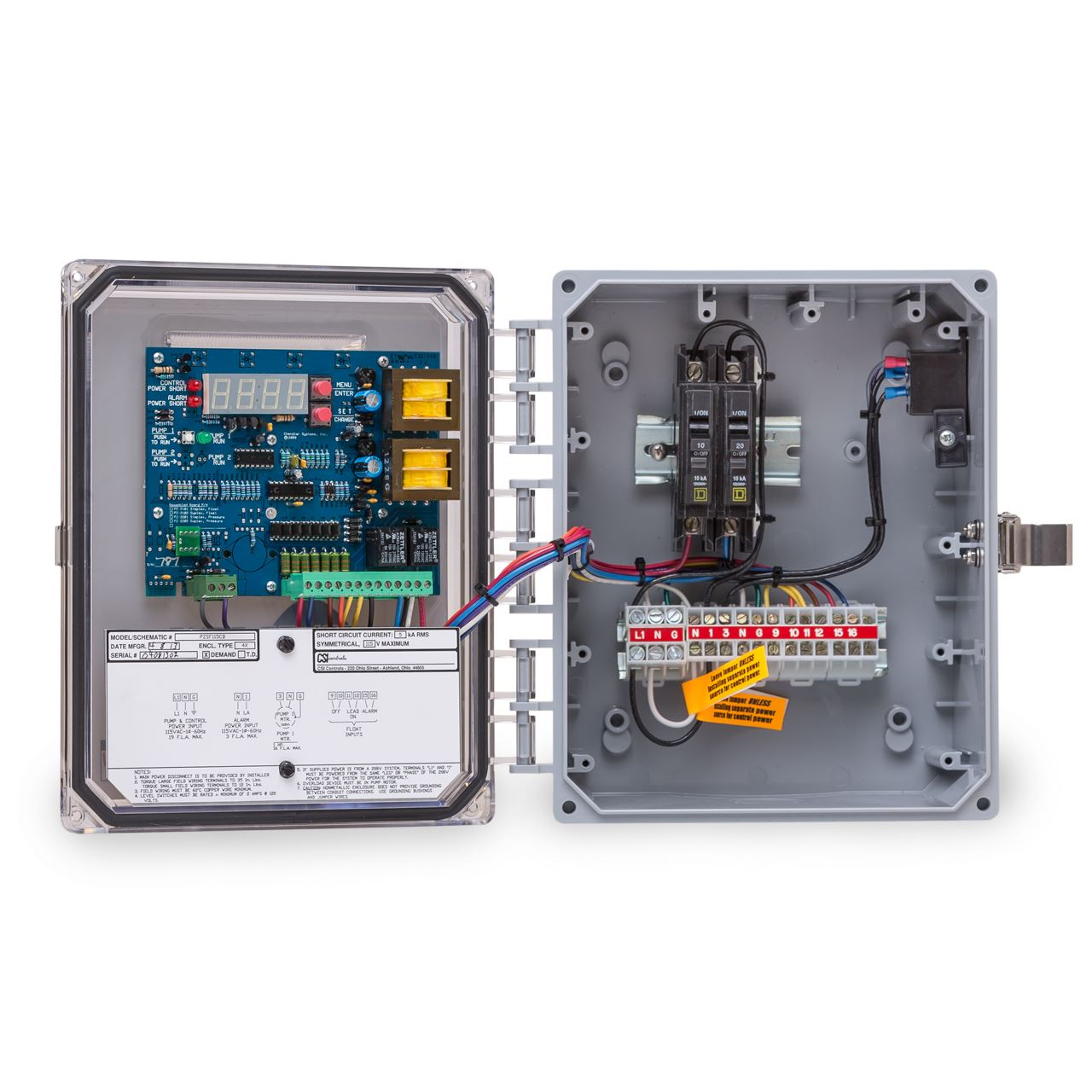 csi controls csi controls pzsf115 power zone simplex pump panel rh rcworst com Simplex Submersible Pump First Alert Fire Control Panel