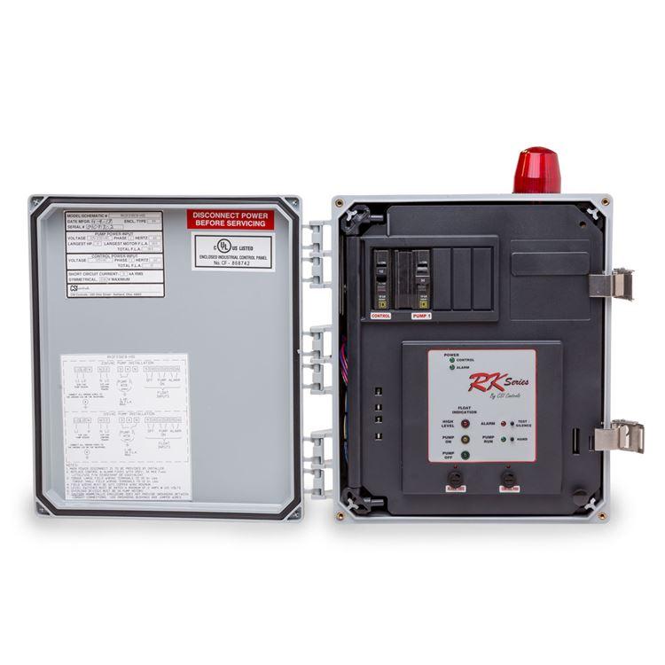 CSI Controls - CSI Controls RKSF115-DCTD RK Simplex Pump Panel 115V