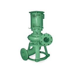 Deming 2x2x9-1/2x1-1/2 Dry Pit Solids Handling Vertical Mounted Sewage Pump 0.75 HP 3PH deming dry pit solids handling pump, deming pump, 7171 series, 7172 series