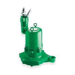 "Hydromatic HPGFX300CC Hazardous Submersible Sewage Grinder Pump 3.0 HP 230V 1PH Manual 8"" imp. 35 cord Hydromatic, Explosion Proof, Hazadrous, HPGHX, HPGFX, HPGHHX, HPGFHX, Submersible Positive Displacement Grinder Pumps"
