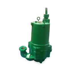 "Hydromatic HPG200M7-2 Submersible Sewage Grinder Pump 2.0 HP 200V 1PH Manual 3.75"" imp. 20' cord  Hydromatic, HPG, HPGH, HPGF, HPGHH, HPGFH, Submersible Positive Displacement Grinder Pumps"