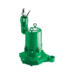 "Hydromatic HPGHX500CD Hazardous Sumbersible Sewage Grinder Pump 5.0 HP 230V 1PH Manual 6.25"" imp. 35' cord Hydromatic, Explosion Proof, Hazadrous, HPGHX, HPGFX, HPGHHX, HPGFHX, Submersible Positive Displacement Grinder Pumps"