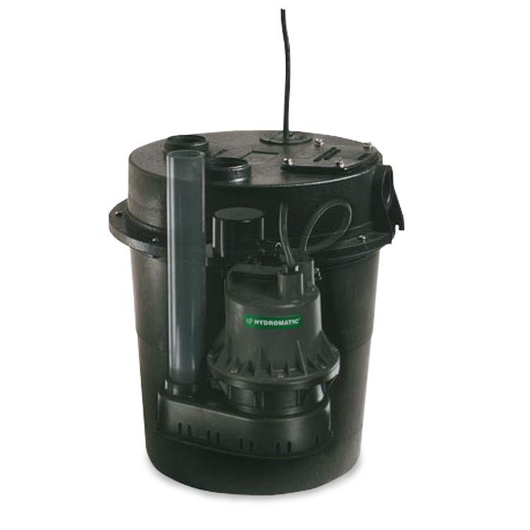 Hydromatic 118-5 Assembled Sump Pump