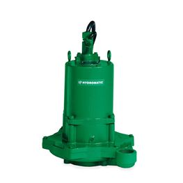 "Hydromatic HPGF300M2-4 Submersible Sewage Grinder Pump 3.0 HP 230V 1PH Manual 8"" imp. 35 cord Hydromatic, HPG, HPGH, HPGF, HPGHH, HPGFH, Submersible Positive Displacement Grinder Pumps"