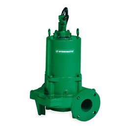 "Hydromatic HPGFH300M6-4 Submersible Sewage Grinder Pump 3.0 HP 200V 3PH Manual 8"" imp. 35 cord   Hydromatic, HPG, HPGH, HPGF, HPGHH, HPGFH, Submersible Positive Displacement Grinder Pumps"