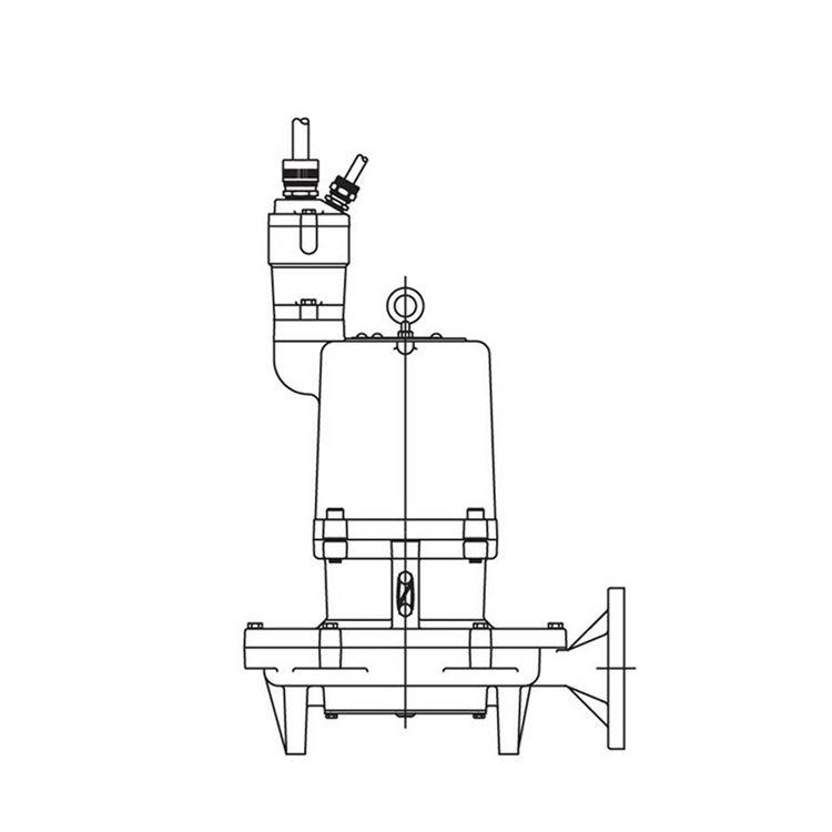 Hydromatic Pump - Hydromatic HPGFHX500CC Hazardous Submersible Sewage  Grinder Pump 5.0 HP 230V 1PH Manual 10.13