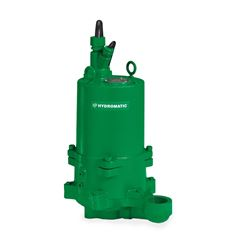 "Hydromatic HPGH500M2-2 Sumbersible Sewage Grinder Pump 5.0 HP 230V 1PH Manual 6.25"" imp. 35' cord   Hydromatic, HPG, HPGH, HPGF, HPGHH, HPGFH, Submersible Positive Displacement Grinder Pumps"