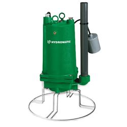 "Hydromatic HPGR200M2-2 Submersible Grinder Pump 2 HP 230V 1PH Manual 5.38"" Imp. 20 Cord Hydromatic, HPGR200M2, HPGR200M2, HPGR200, HPGR,grinder pump, E1"