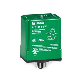 Littelfuse Model ALT-115-X-SW Cross-Wired Alternating Duplex Pump Relay with Switch 95-125V 8-pin Plug-in MSRALT-115-X-SW Littelfuse ALT-115-X-SW, 95-125V, Cross-Wired Alternating, Duplex, Pump Relay with Switch, 95-125V, 8-pin Plug-in