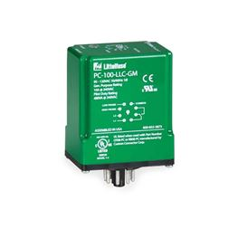 Littelfuse Model PC-100-LLC-CZ Liquid Level Control Relay  95-120V 8-Pin Plug-In MSRPC-100-LLC-CZ Littelfuse PC-100-LLC-CZ, 95-120V, liquid level control relay, control conductive liquid, pump-up or pump-down