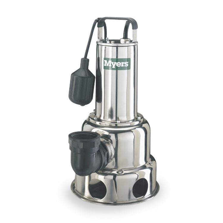 Myers Myers Dsw50p1 Stainless Steel Sewage Pump 0 5 Hp