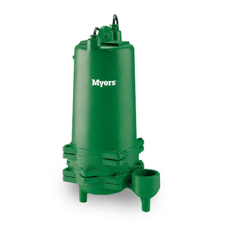 Myers ME100S-21 Effluent Pump 1 0 HP 230V 1 PH 20' Cord Manual