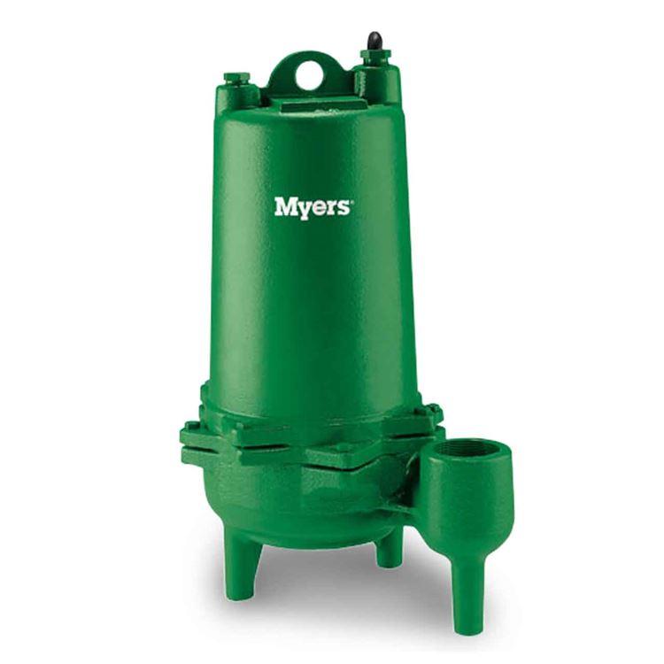 Myers myers mw100-21 sewage pump 1. 0 hp 230v 1 ph manual 20.