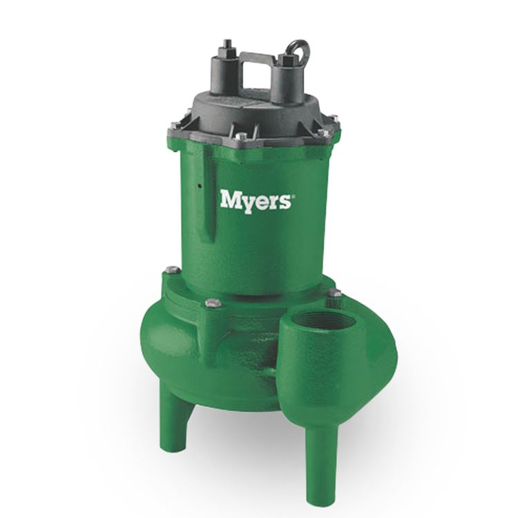 Myers manual submersible sewage pump, 120 voltage, 30 gpm of water.