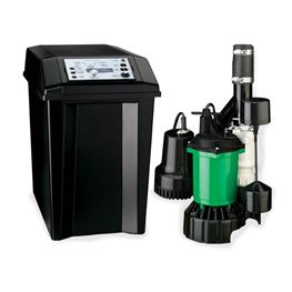 Myers MBSP-2C Classic Battery Back-up Sump Pump System 34 GPM Myers MBSP Battery Backup Pump,