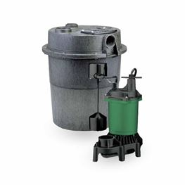Myers ED-MS33PV10 Sink Pump System 0.33 HP 115V 10 Cord Myers ED-MS33PV10 sink pump system, ED-MS33PV10, sump pump, utility pump, dewatering pump, basement pump, effluent pump