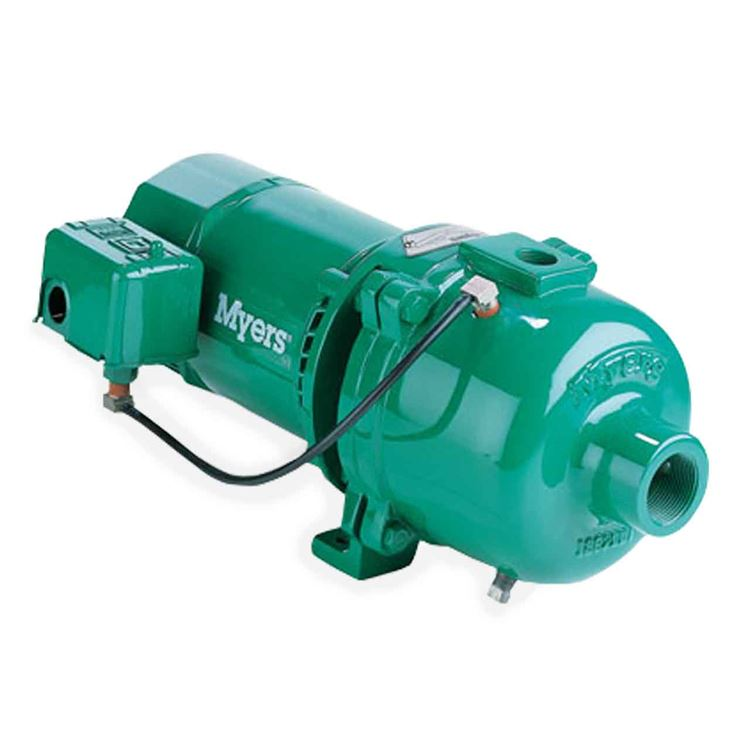 Myers HJ100S-1 Series Convertible Shallow Well Jet Pumps 1 0 HP 230/115V