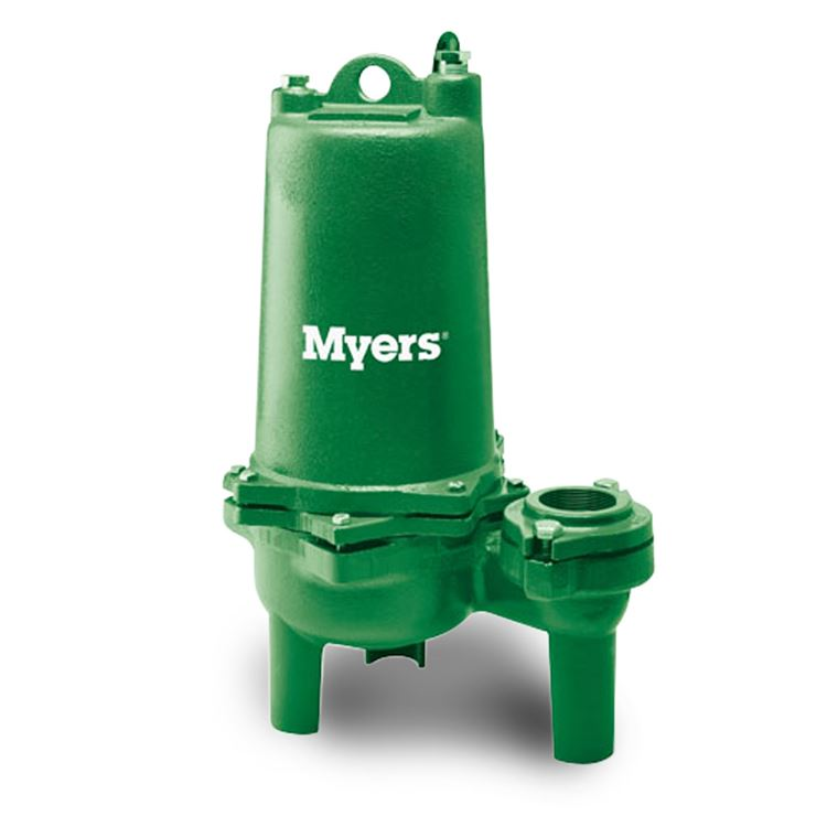 Myers Myers Whr15h 03 High Head Sewage Pump 1 5 Hp 200v