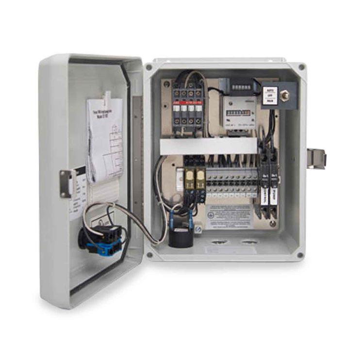 simplex control panel | sewage pump control panel  rc worst & co.
