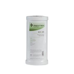"Pentek RFC-BB Radial Flow Carbon Filter Cartridge 4.5"" X 9.75"" 25 Micron Culligan BB RCF-BBS, Whirlpool WHEF-WHPCBB, filter, carbon filter, housing, 2X20, 2.5X20, filtration"