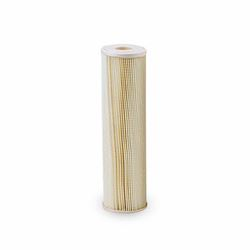 "Pentek ECP5-10 Pleated Cellulose Polyester Cartridge 2.5"" X 10"" 5 Micron  Aqua-Pur AP810-2,3M Purification AP810-2,Everpur DEV9108-41,Shurflo 15-054-02PP30-BB, pleated poly filter, sediment filtration, filter, sediment filter, progressive filter, housing, 4X20, 4.5X20, filtration, 5 micron,"