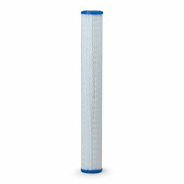 "Pentek R30-20 Pleated Polyester Cartridge 2.5"" X 20"" 30 Micron polyster cartridge, pleated polyester filter, bacteria resistant, chemical resistant, pentek r series pleated polyester cartridge"