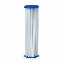 "Pentek R30 Pleated Polyester Cartridge 2.5"" X 10"" 30 Micron polyster cartridge, pleated polyester filter, bacteria resistant, chemical resistant, pentek r series pleated polyester cartridge"
