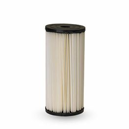 "Pentek S1-BB Pleated Poly Filter Cartridge 4.5"" X 9.75"" 20 Micron   pleated cellulose cartridges, s1 series filter ,pleated poly filter, sediment filtration,  20 micron"