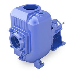 Power-Flo PF20MU Self-Priming Frame Mounted Pump Power-Flo, PF20MU, Self-Priming, Motor Driven, Frame Mounted Pump