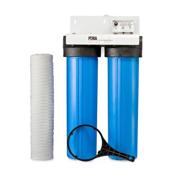 pura pura uv bigboy series model uvbb 2 15 gpm ultraviolet water treatment system 120v. Black Bedroom Furniture Sets. Home Design Ideas