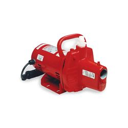 Red Lion RJSE-50 Cast Iron Sprinkler Utility Pump 0.5 HP 115V Red Lion Jet Pump, convertible jet pumps, cast Iron pumps, convertible well pumps, well pumps, shallow well pumps, end suction pumps