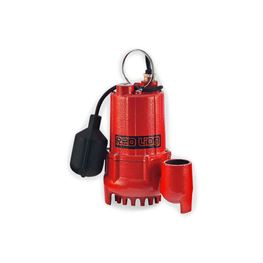 Red Lion RL-SC33T Cast Iron Sump/Effluent Pump 0.33 HP 115V 10 Cord Automatic   Red Lion sump Pump, sump pumps, thermoplastic sump pumps, submersible sump pumps, cast iron sump pump
