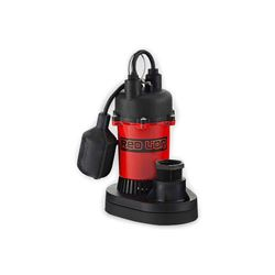 Red Lion RL-SP33T Thermoplastic Sump Pump 0.33 HP 115V 8' Cord Automatic  Red Lion sump Pump, sump pumps, thermoplastic sump pumps, submersible sump pumps