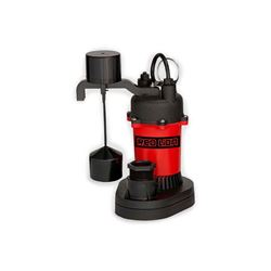 Red Lion RL-SP33V Thermoplastic Sump Pump 0.33 HP 115V 8 Cord Automatic Red Lion sump Pump, sump pumps, thermoplastic sump pumps, submersible sump pumps