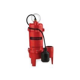 Red Lion RL-WC50TA Cast Iron Sewage Pump 0.5 HP 115V 10 Cord Automatic Red Lion sewage Pump, sewage pumps, cast iron sewage pumps, submersible sewage pumps
