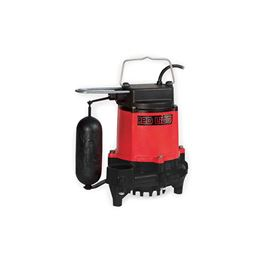 Red Lion RL-33SC Snap-Action Cast Iron Sump/Effluent Pump 0.33 HP 115V 10 Cord Automatic  Red Lion sump Pump, sump pumps, thermoplastic sump pumps, submersible sump pumps, efluent pumps, snap-action pumps