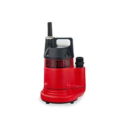 Red Lion RL-160U Aluminum Utility Pump 1/6 HP 115V 10' Cord  Red Lion aluminum utility pump, water remover pump, utility pump, submersible utility pump, aluminum pump