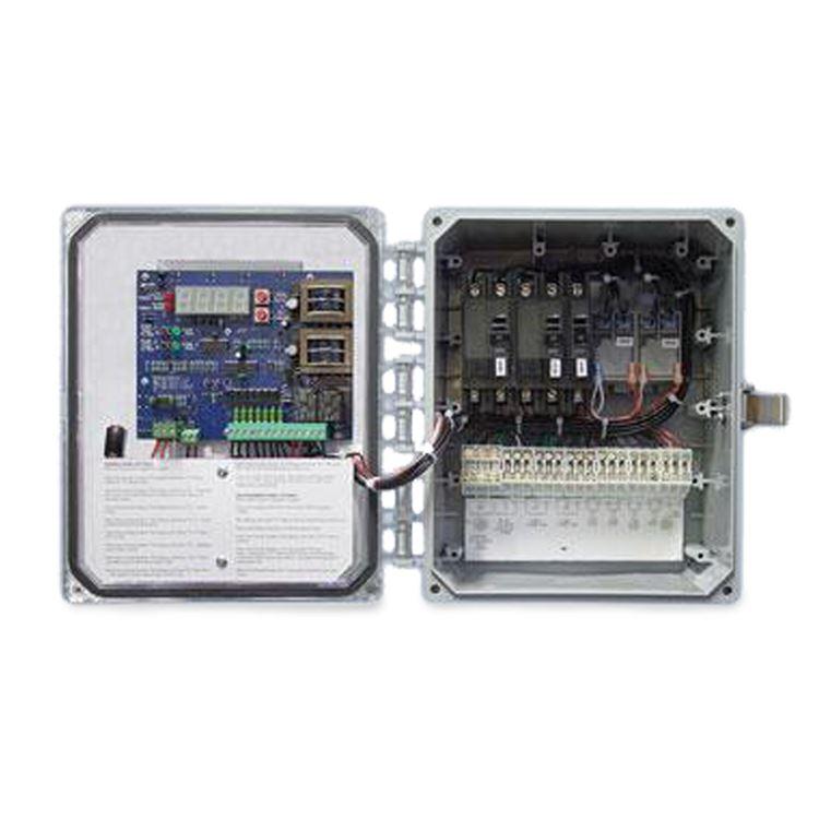 sje rhombus - sje-rhombus ez series single phase duplex pump control panel  demand dose #sjeezs4