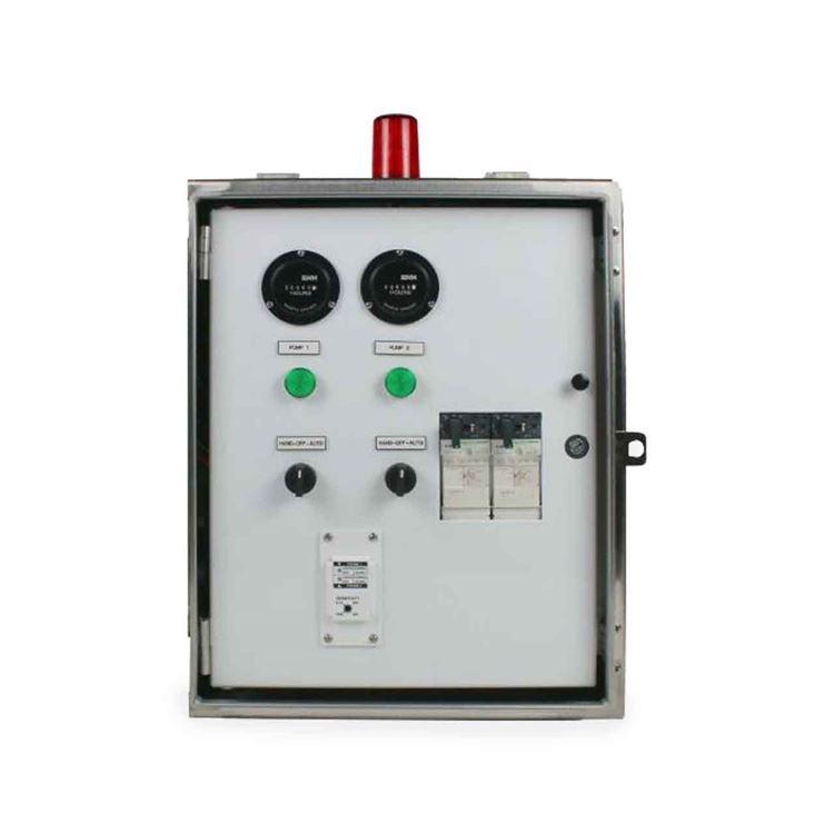 sje rhombus - sje-rhombus model 32s 3-phase duplex motor contactor control  panel #cp-sje10