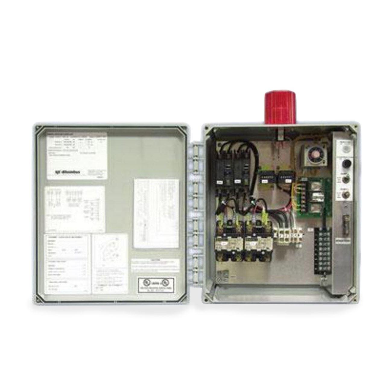 sje rhombus sje rhombus model dtd timed dosing duplex 120 208 240 rh rcworst com Motor Control Wiring Diagrams Motor Control Wiring Diagrams