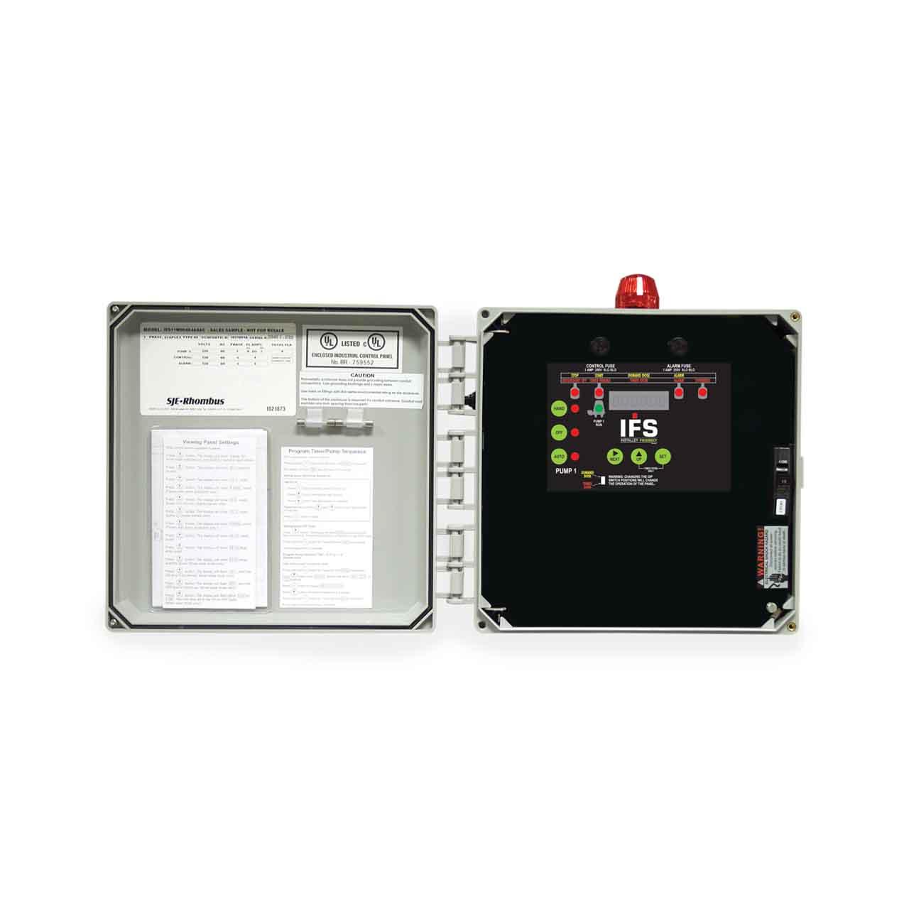 sje rhombus model ifs single phase 120 208 240v simplex control panel ASSA ABLOY Wiring Diagrams