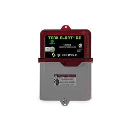 SJE-Rhombus TAEZ-01HDUO Tank Alert EZ 120V w/(2) 15 SJE SignalMasters  pump alarm, basin alarm, alarm float, alarm panel, high water alarm, low water alarm, float, pump switch, control switch, wide angle float, SJ Electro, SJ Electro pump switch, pump float, float switch, signal float