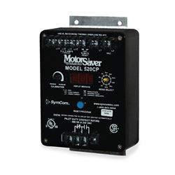 SymCom 520CP-115 Three-Phase Current Monitor MSR520CP115 SymCom 520CP-115, 100-130V, Three-Phase Current Monitor, current monitor, current monitor, monitor, current, protection, motor protection, pump protection, motor saver, current protection, run dry protection, SymCom