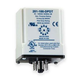 SymCom 201-100-DPDT Three-Phase Voltage Monitor MSR201-100-DPDT, SymCom 201--100-DPDT 95-120V Three-Phase Voltage Monitor, 11-pin plug in, voltage monitor, volt monitor, monitor, voltage, protection, motor protection, pump protection, motor saver, current protection, run dry protection, SymCom