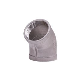 "304 Stainless Steel 45° Elbow 2"" elbow, stainless steel fitting, stainless steel elbow, stainless steel 304, 304, threaded, threaded pipe fitting, ninety degree elbow, SSLL9020"