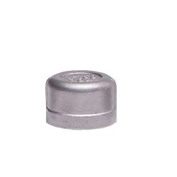 "304 Stainless Steel Cap 1"" cap, stainless steel fitting, stainless steel cap, stainless steel 304, 304, threaded, threaded pipe fitting, SSLCP10"