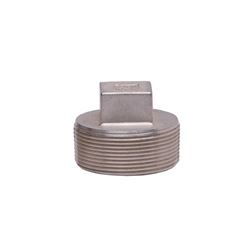 "304 Stainless Steel Plug 2"" union, stainless steel fitting, stainless steel plug, stainless steel 304, 304, threaded, threaded pipe fitting, SSLPG20"