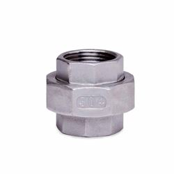 "304 Stainless Steel Union 3/4"" union, stainless steel fitting, stainless steel union, stainless steel 304, 304, threaded, threaded pipe fitting, SSLU07"